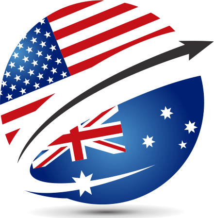 US to Oz Logo